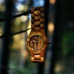 Zebra medinis laikrodis