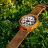 Medinis laikrodis iš bambuko